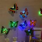 19.63 руб. 13% СКИДКА|2018 новые 1 шт. настенные наклейки бабочка светящийся светодиодный свет настенные наклейки 3D бабочки украшение дома для детей дропшиппинг-in Новизна освещения from Лампы и освещение on Aliexpress.com | Alibaba Group