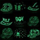 IMucci/бейсболка с граффити хип хоп люминесцентный свет Snapback кепки s подарок для мужчин женщин Девушка Светящиеся в темноте шляпы Мальчик световой шляпа купить на AliExpress