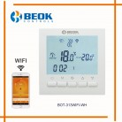 US $17.82 22% OFF|BEOK Programmable Gas Boiler Heating Temperature Regulator APP Controls WIFI Thermostat & Hand Control Thermostat with Kid Lock-in Temperature Instruments from Tools on Aliexpress.com | Alibaba Group