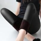771.17 руб. 49% СКИДКА|Зимние теплые 100 кг жир мм плюс размер женские плюс бархат сплошной цвет имитация кожи Высокая талия брюки леггинсы 6XL femme MZ1097-in Леггинсы from Женская одежда on Aliexpress.com | Alibaba Group