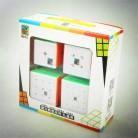 Кубик Moyu Комплект 2x2 3x3 4x4 5x5 Скорость Cube комплект mofang jiaoshi Magic Cube MF2S MF3S MF4S MF5S Pack головоломки игрушка в подарочной упаковке купить на AliExpress