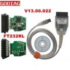 796.0 руб. 8% СКИДКА|V13.00.022 мини VCI FT232RL для TOYOTA ТИС Techstream один кабель для Toyota ТИС МИНИ VCI J2534 инструмент диагностики купить на AliExpress