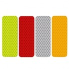 2019 светоотражающий логотип Предупреждение ленты бампер автомобиля со светоотражающими элементами безопасности отражающие наклейки Накле...