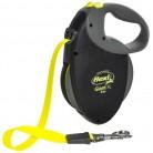 Купить Поводок-рулетка для собак Flexi Giant XL ленточный черный/желтый 8 м по низкой цене с доставкой из маркетплейса Беру