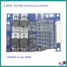 321.49 руб. |4S 20A 16,8 V постоянного тока до 10 S 36 V BMS PCM литий ионная аккумуляторная батарея Защитная плата для 18650 103450 17500 16670 ионно литиевая аккумуляторная батарея-in Интегральные схемы from Электронные компоненты и принадлежности on Aliexpress.com | Alibaba Group
