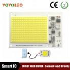 [YOYOLUO] Высокая светодио дный мощность COB светодиодные лампы Чип В 220 В Smart IC без драйвера COB светодио дный светодиодные светодио дный лампы прожектор 5 Вт 20 Вт 30 Вт 50 Вт 100 Вт купить на AliExpress