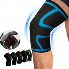 1Pcs Sports Running Cycling Gym Knee Pad Support Braces Elastic Nylon Compression Knee Protector Sleeve For Volleyball Basketbal