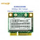 690.31 руб. |BCM943228HMB BCM943228 bcm43228 для Broadcom двухдиапазонный WiFi, Bluetooth, Беспроводной 4,0 мини карта pci e FRU 04W3763 для lenovo-in Сетевые карты from Компьютер и офис on Aliexpress.com | Alibaba Group