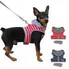 Мягкая Маленькая Собака Щенок Чихуахуа жгут поводок набор Регулируемый полосой худи для домашних собак жилет для малых и средних товары собак купить на AliExpress