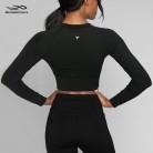 1079.33 руб. |Топ для йоги, мягкая футболка, рубашки с длинными рукавами, Лоскутная Спортивная камуфляжная черная укороченная футболка с сеткой, фитнес спорт, женские футболки-in Рубашки для йоги from Спорт и развлечения on Aliexpress.com | Alibaba Group