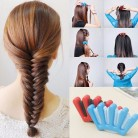 US $0.76 17% OFF|Charming French Style 1pcs Women Girls DIY Sponge Hair Braider Plait Hair Twist Braiding Tool Hair Styling Tools-in Braiders from Beauty & Health on Aliexpress.com | Alibaba Group