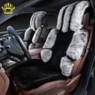 чехлы на автомобильные сиденья,  чехлы на сиденья автомобиля из искусственного меха и искусственного меха лисицы.черно серый  цвет, очень качественные и красивые.распродажа 2016  купить на AliExpress