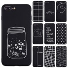 US $0.71 40% OFF Love Heart 3D Relief Soft Silicone Cases For iPhone 5 S SE X Phone Case For iPhone 6s 6 7 8 Plus XS Max XR 11Pro Frosted Fundas-in Half-wrapped Cases from Cellphones & Telecommunications on AliExpress