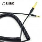 711.85 руб. 24% СКИДКА|Замена аудио провода DIY линии обновить Расширенный DJ спиральный кабель аудио для Philips SHP9500 SHL5505 SHL5705 наушников 3,5 купить на AliExpress
