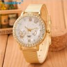 111.77 руб. 30% СКИДКА|Модные женские туфли с открытыми пальцами и кристальной бабочкой золото Нержавеющаясталь сетчатый ремешок наручные часы челнока-in Повседневные часы from Ручные часы on Aliexpress.com | Alibaba Group