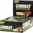MusclePharm, Combat Crunch, со вкусом шоколадного печенья, 12батончиков по 63г