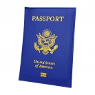 US $1.8 18% OFF|Fashion Faux Leather Travel USA Passport Case ID Card Holder Cover Organizer -in Card & ID Holders from Luggage & Bags on Aliexpress.com | Alibaba Group