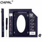 US $3.39 |CHIPAL Universal 2nd HDD Caddy 9.5mm SATA 3.0 for 2.5'' 9mm 7mm SSD Case Hard Drive Enclosure for Laptop DVD ROM CD ROM Optibay-in HDD Enclosure from Computer & Office on Aliexpress.com | Alibaba Group