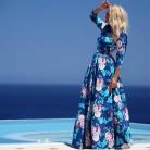 1281.19 руб. 10% СКИДКА|Плюс большие размеры женская одежда платье 2018 Летний стиль Европа корейский чешские bodycon пляжная вечеринка платье с цветочным рисунком женские A0196 купить на AliExpress