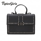 US $15.12 64% OFF|2018 Brand Women Bags Luxury Handbags Women Messenger Bags Cover Rivet Bag Girls Fashion Shoulder Bag Ladies PU Leather Handbags-in Shoulder Bags from Luggage & Bags on Aliexpress.com | Alibaba Group