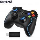 EasySMX ESM 9013 Беспроводной геймпад Джойстик для ПК PS3 ТВ коробки Андроид смартфона Контроллер с кнопкой TURBO купить на AliExpress