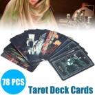 US $6.42 61% OFF|2019 Full English Deck Tarot Cards DIY Silver Plating Prisma Visions Tarot High Quality Tarot Deck Board Game Cards on AliExpress