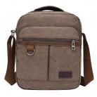 707.75 руб. 50% СКИДКА|Однотонные холщовые повседневные мужские сумки через плечо на молнии дизайнерские мужские сумки на одно плечо многофункциональные дорожные сумки через плечо on Aliexpress.com | Alibaba Group