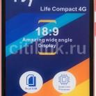 Купить Смартфон FLY Life Compact 4G красный в интернет-магазине СИТИЛИНК, цена на Смартфон FLY Life Compact 4G красный (1107212) - Москва