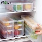 497.11 руб. 27% СКИДКА|Пластиковые корзины для хранения холодильник коробка для хранения продуктов контейнеры для хранения с крышкой для кухни холодильник шкаф морозильник стол органайзер-in Ящики и баки для хранения from Дом и животные on Aliexpress.com | Alibaba Group