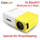 US $39.99 |In Stock Coolux YG300 YG 300 Mini LCD LED Projector Mini Projector 400 600LM 1080P Video 320 x 240 Pixel Best Home Proyector-in LCD Projectors from Consumer Electronics on AliExpress