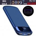 721.35 руб. 67% СКИДКА|Действительно 30000 mah Мощность Bank внешняя Батарея повербанк 2 USB ЖК дисплей Мощность банк Портативный мобильного телефона Зарядное устройство для Xiaomi Mi iphone X купить на AliExpress