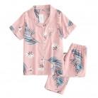 US $13.82 20% OFF|Fresh short sleeve summer pyjamas women 100% gauze cotton sleepwear women casual Korea pajamas sets women homewear New Sale-in Pajama Sets from Underwear & Sleepwears on AliExpress - 11.11_Double 11_Singles' Day