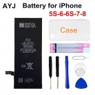 US $9.62 45% OFF|AYJ 1 Piece Brand New AAAAA Quality Phone Battery for iPhone 6S 6 5S 5C 7 8 High Real CapacityZero Cycle Free Tool Sticker Kit-in Mobile Phone Batteries from Cellphones & Telecommunications on Aliexpress.com | Alibaba Group