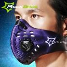 RockBros половина уход за кожей лица маска Велосипедный спорт велосипед Велоспорт Маска щит унисекс пыли угольный фильтр Training бег купить на AliExpress