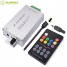 735.67 руб. 30% СКИДКА|DC12V 24V 18 Keys RGB Music LED Controller RF Remote Sound Sensor Voice Audio Control For 3528 5050 RGB LED Strip Light-in Панели управления RGB from Лампы и освещение on Aliexpress.com | Alibaba Group