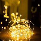 28.26руб. 39% СКИДКА|1/2/5/10 M Медный провод светодиодные огни строки праздник освещение гирляндой Рождественский венок для Новый год свадебная вечеринка украшения-in LED-гирлянды from Лампы и освещение on AliExpress - 11.11_Double 11_Singles' Day