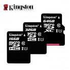 223.54 руб. 34% СКИДКА|Kingston Class 10 Карта Micro Sd 16 ГБ 32 ГБ 64 ГБ 128 ГБ 8 ГБ Памяти C10 Мини Карты SD C4 8 ГБ SDHC SDXC TF Карты для смартфон купить на AliExpress