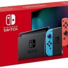 Купить Игровая консоль NINTENDO Switch New, красный/синий в интернет-магазине СИТИЛИНК, цена на Игровая консоль NINTENDO Switch New, красный/синий (1183186) - Москва