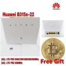 6442.82 руб. |Huawei b315s 22 4 г LTE 150 Мбит FDD TDD Беспроводной CPE маршрутизатор открыл + Бесплатный подарок + 2 шт. 4 г b315 антенны-in 3 г/4 г маршрутизаторы from Компьютер и офис on Aliexpress.com | Alibaba Group