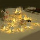 US $8.62 20% OFF|1.5M 10pcs LED Christmas Tree House Style Fairy Light Led String wedding natal Garland New Year christmas decorations for home-in Pendant & Drop Ornaments from Home & Garden on Aliexpress.com | Alibaba Group