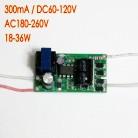 126.89 руб. 30% СКИДКА|Высокая эффективность 300mA 18 36*1 Вт DC 60 V ~ 120 V светодиодный драйвер 18 Вт 20 Вт 24 W 25 W 30 W 36 W Питание AC 220 V для Светодиодный свет-in Трансформаторы систем освещения from Лампы и освещение on Aliexpress.com | Alibaba Group