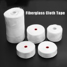 1 Roll White Fiberglass Cloth Tape High-strength Glass Fiber Fibrous Belt Resistant High Temperature Six Size