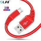 27.95 руб. 30% СКИДКА|Олаф Micro USB кабель для samsung Xiaomi 2.4A быстрой зарядки кабель передачи данных Android Мобильный зарядное устройство для телефона шнур Кабели micro usb купить на AliExpress