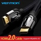 Vention кабель HDMI HDMI 2,0 4 k 3D 60FPS кабель для Splitter Переключатель ТВ ЖК дисплея ноутбука PS3 проектор компьютерный кабель купить на AliExpress