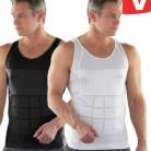Как видно на ТВ Топы Для мужчин хорошее качество Для мужчин для похудения Lost Вес жилет рубашка Жирная Майка пояса корсет Body Shaper купить на AliExpress