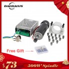 500W Air Cooled Spindle ER11 CNC Spindle Motor Kit + Adjustable Power Supply 52MM Clamps ER11 Collet Chuck For Engraving Machine-in Machine Tool Spindle from Tools on Aliexpress.com | Alibaba Group