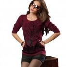 Осень Зима для женщин свитеры для пуловеры стиль с длинным рукавом повседневное укороченный свитер тонкий сплошной трикотажные купить на AliExpress