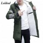 2053.34 руб. 40% СКИДКА|Loldeal 2019 зимняя куртка мужская с капюшоном тонкая длинная теплая куртка пальто Мужская s пуховая парка зимняя мужская куртка-in Парки from Мужская одежда on Aliexpress.com | Alibaba Group