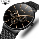 US $12.74 83% OFF|Mens Watches LIGE Top Brand Luxury Waterproof Ultra Thin Date Clock Male Steel Strap Casual Quartz Watch Men Sports Wrist Watch-in Quartz Watches from Watches on Aliexpress.com | Alibaba Group