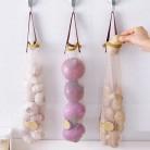 Креативный домашний интерьер полый дышащий подвесной мешок для хранения фруктов и овощей Чеснок Лук подвесной мешок купить на AliExpress